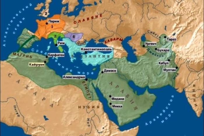 Карта Древнего Мира